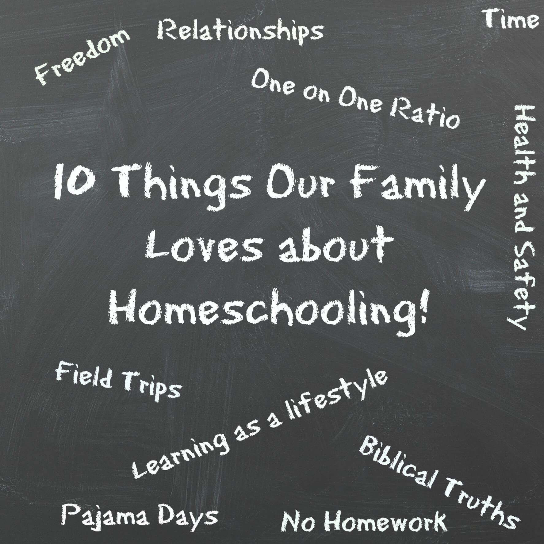 10 Things our Family LOVES About Homeschooling
