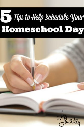 Once you have decided to homeschool and you have chosen your curriculum, you may wonder how to schedule your homeschool days.