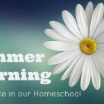 What Summer Learning Looks Like in Our Homeschool