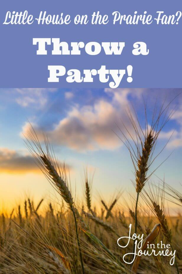 Have a daughter who loves Little House on the Prairie? Here are some ideas to help you throw a Little House Birthday Party! Games, invitations, food and more!
