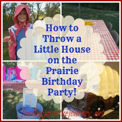 Little House Birthday Party