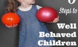 Three Steps to Well Behaved Children