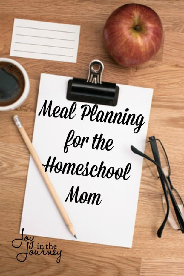 Feel like dinner time is a guessing game every day? Meal planning is not as complicated as you may think. There are steps that can make meal planning for homeschool moms pretty simple.