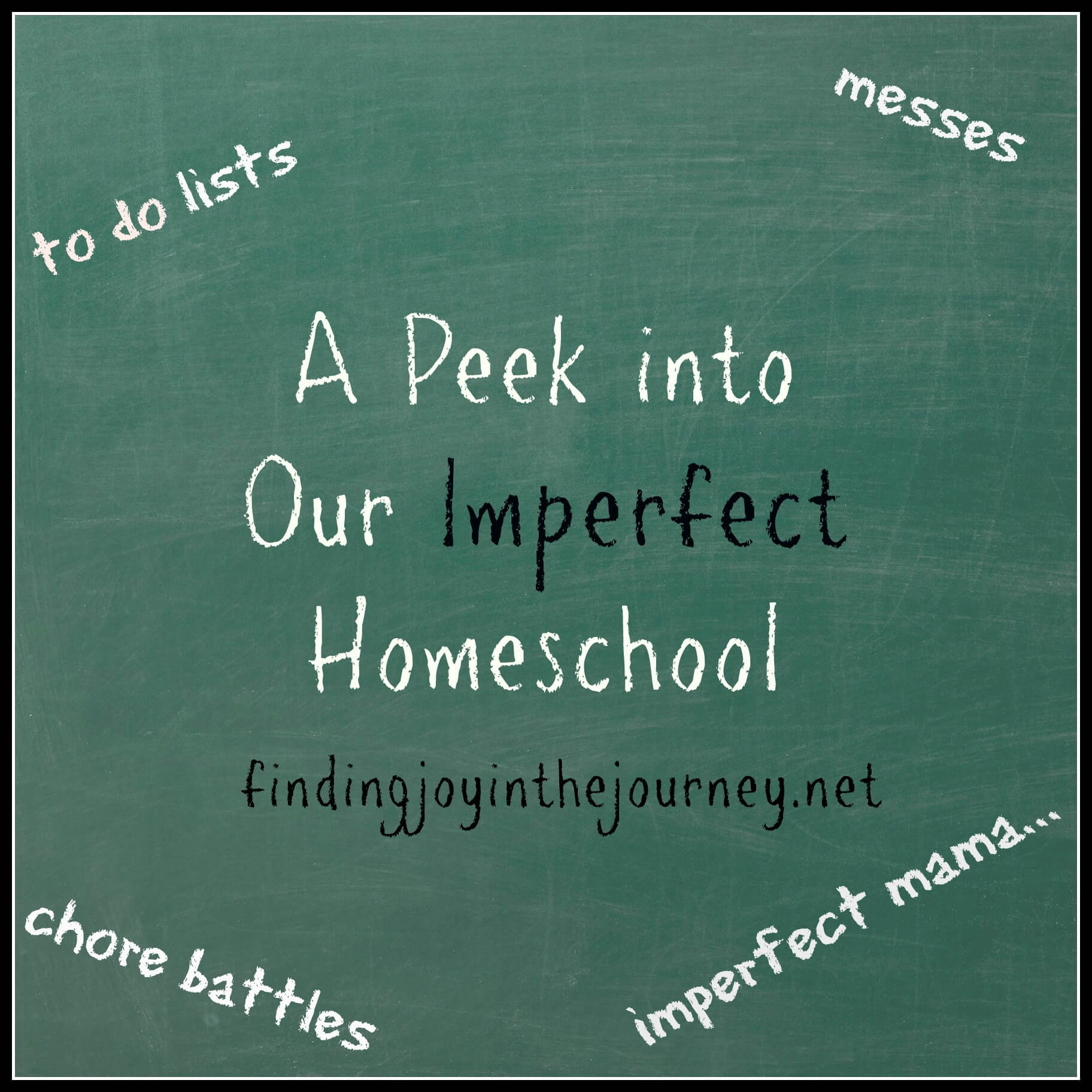 Our Imperfect Homeschool