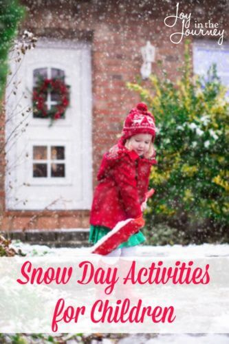 With winter comes snow days for many kids! Here are some snow day activities you can do to beat the winter blues!