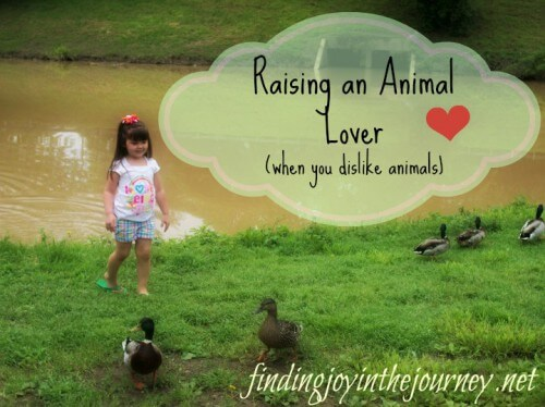 Raising an animal lover