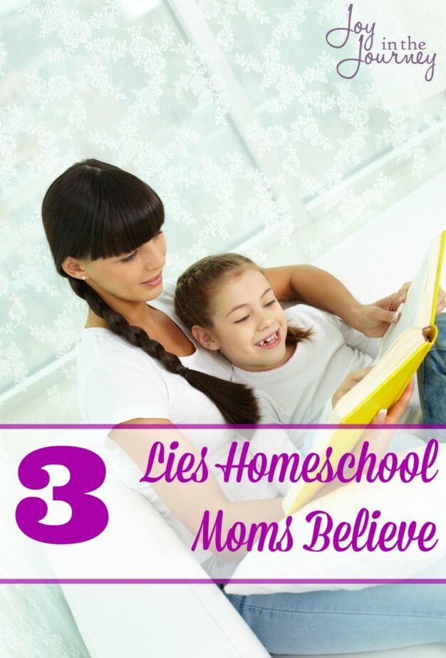 As we embark on our homeschool journey's, many homeschool moms fool ourselves into believing things that quite frankly just aren't true. Here are three lies homeschool moms believe that is just downright foolish.