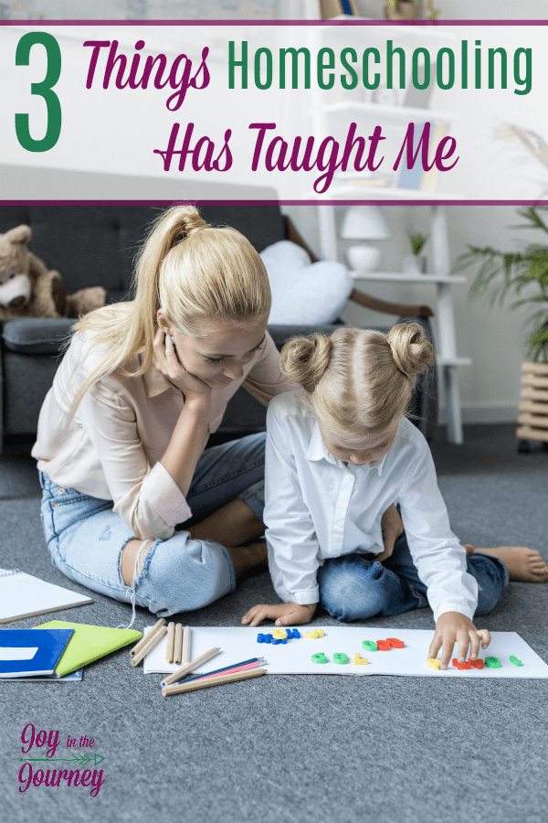 Each year brings with it a new grade, new material, and a new age of parenting. I stand on three important things that homeschooling has taught me, these things can carry me through each year, no matter what the school year may bring.