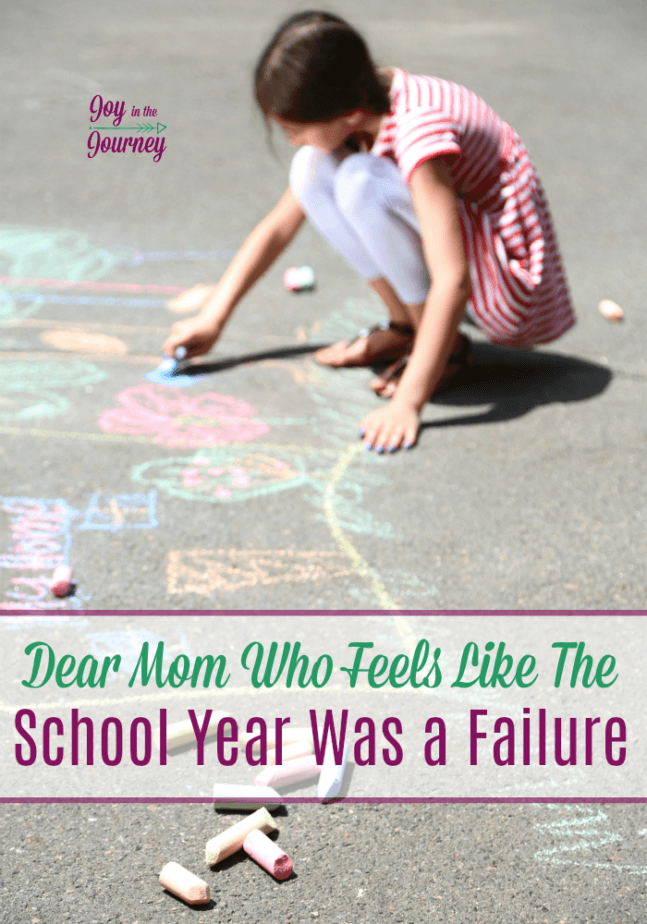 So, you feel like the school year was a failure. I have been there and I want you to stop and ask yourself these three things.