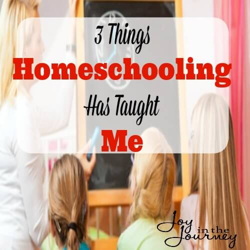 Homeschooling has taught me