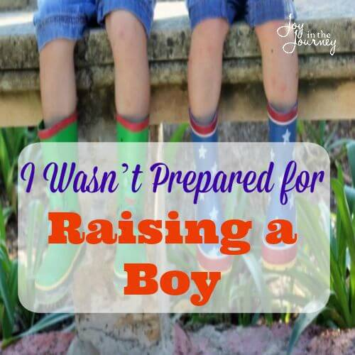 I Wasn't Prepared for Raising a Boy