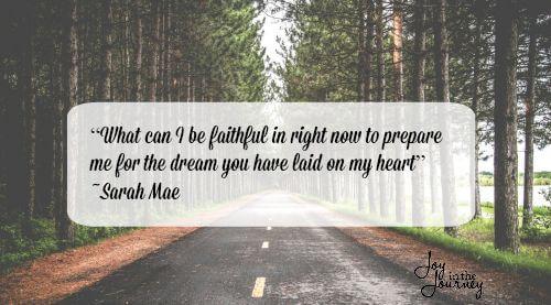 Sarah Mae quote