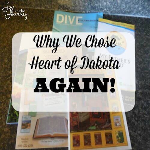 Why We Chose Heart of Dakota