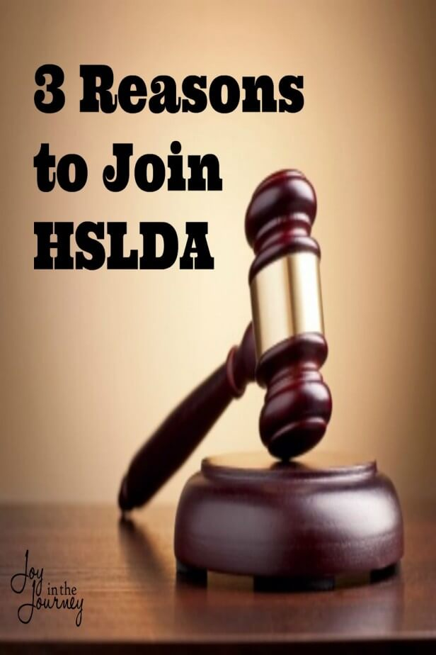 3 Reasons to Join HSLDA PIN