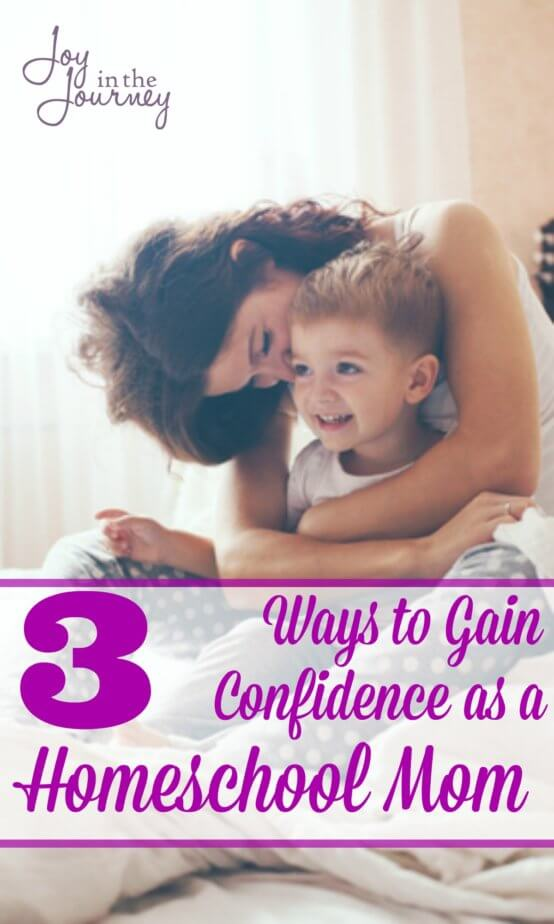How do we gain confidence as a homeschool mom? We need to believe in ourselves, we need to feel okay about doing something for US! To gain confidence as a homeschool mom we have to be willing to embrace our calling.