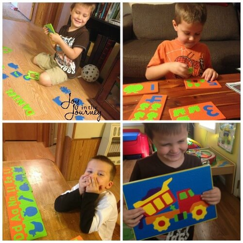 Foam Puzzles for Learning