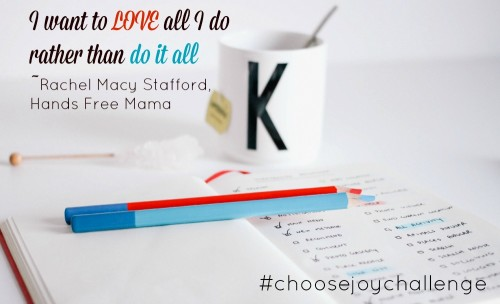 Learning to Say No Choose Joy Challenge