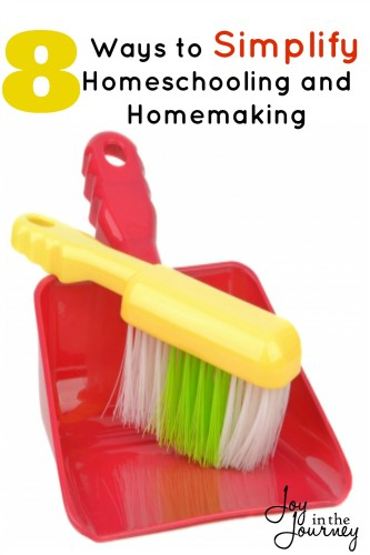 8 ways to simplify homeschooling and homemaking  You can simplify homeschooling and homemaking and I am going to show you how!