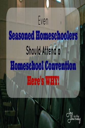 Even Seasoned Homeschoolers Should Attend a Homeschool Convention I believe homeschool conventions can benefit even seasoned homeschoolers and even a seasoned homeschooler should attend a Homeschool Convention.