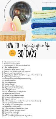#30dayorganize