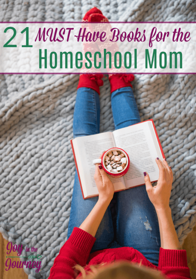 The must have books for the homeschool mom. Those are the ones that  I recommend to moms regardless of where they are on their homeschool journey. Those are the must have books for the homeschool moms that I am sharing today.