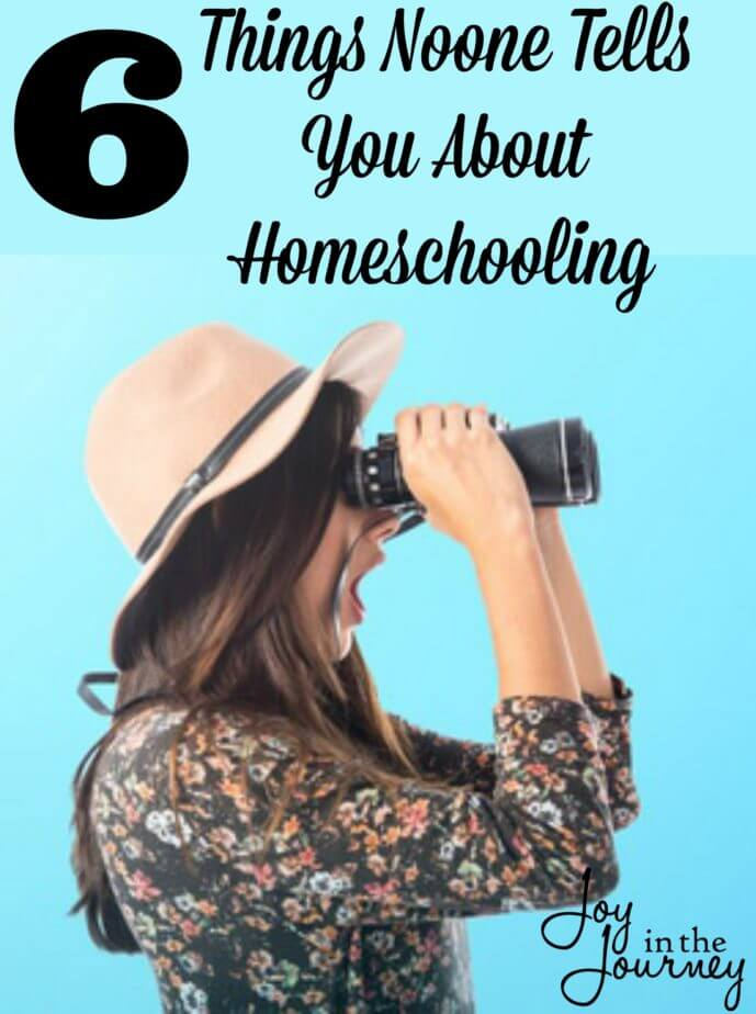 When I began homeschooling moms were tell me things I needed to know. However, there were other things that no one tells you about homeschooling that I wish they had told me.
