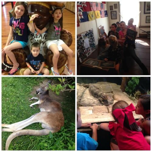 Great Wolf Lodge, 1810 House and Columbus Zoo