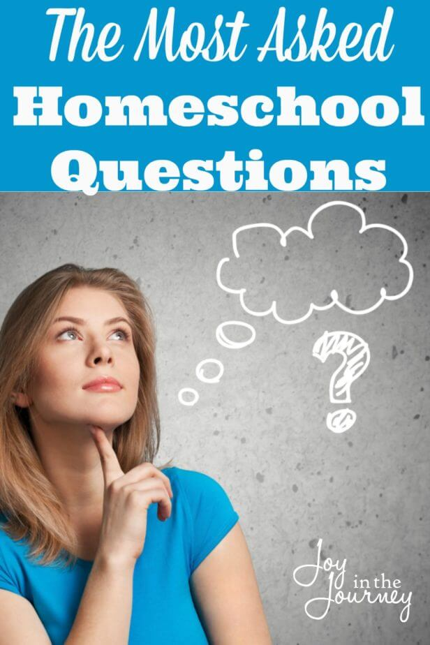 The Top Ten Homeschool Questions   These are the top ten homeschool questions that anyone considering homeschooling asks. They are the questions most asked about homeschooling from strangers, or critics.