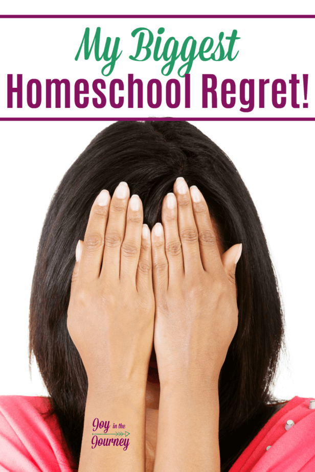 Homeschool regrets, we all have them right? I believe it heavily weighs us down as homeschool moms. And that is why I'm sharing my homeschool regret with you.