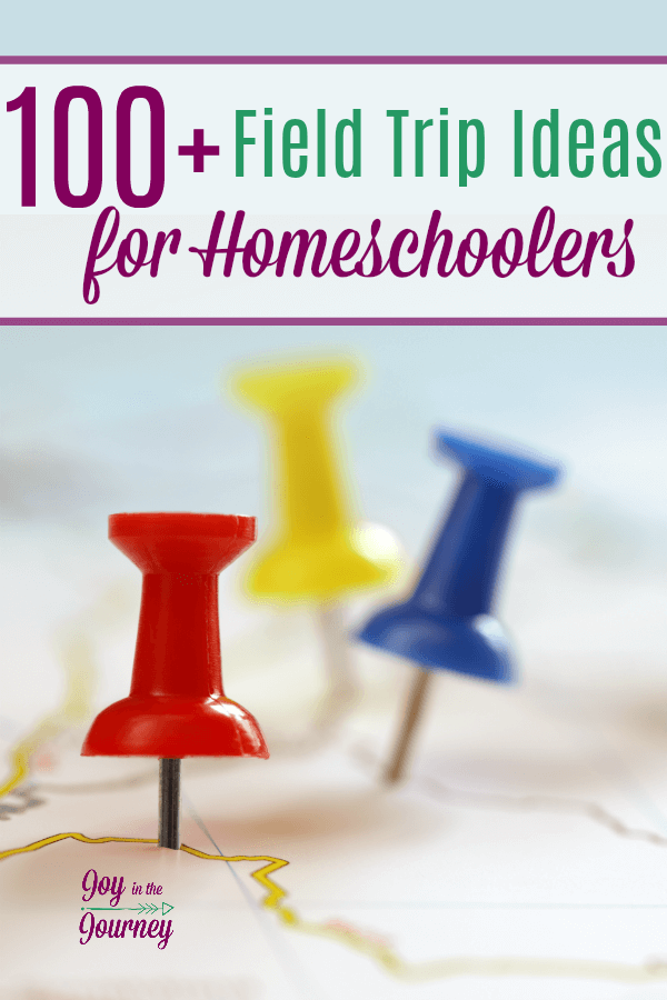 Looking for field trip ideas for homeschoolers? Look no farther! The ultimate list of over 100 field trip ideas for homeschoolers is here!