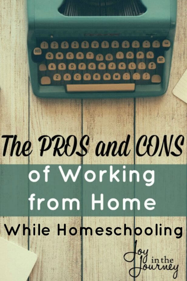 Working at home is not always pretty. Here are a few pros and cons of working from home straight from a wahm of 11 years!