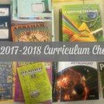 Our 2017-2018 Homeschool Curriculum Choices
