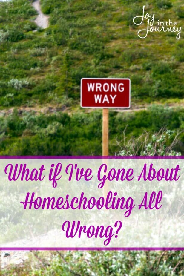 Do you ever worry that you are homeschooling all wrong? We all have that fear, but the truth is you are probably rocking this whole homeschool thing! Here's why!