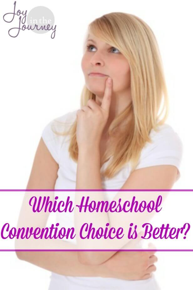 Digital or physical? Which homeschool convention choice is better? I think the answer lies in what you are looking for.  Let's take a look at WHY people do and don't attend a homeschool convention and find which choice is the BEST for YOU!