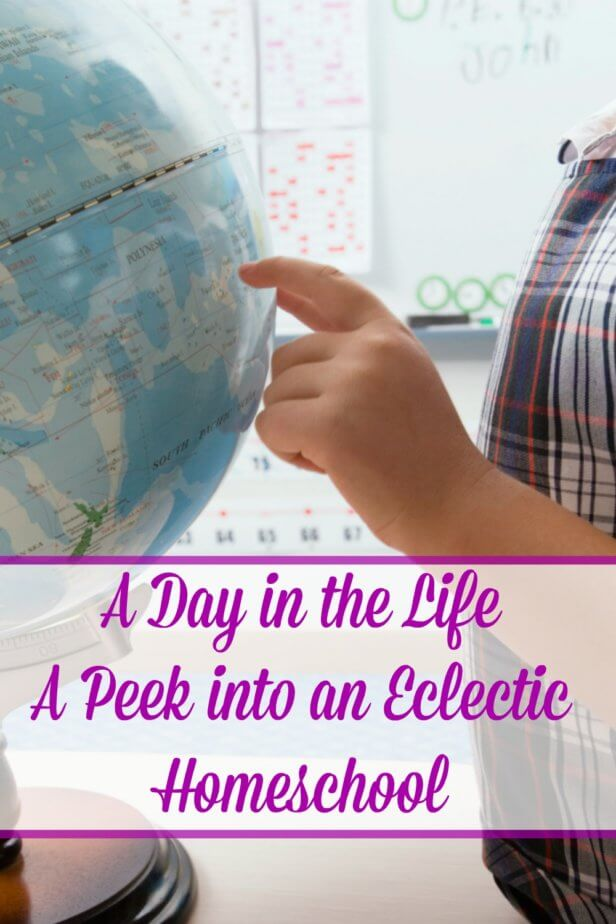 Ever wondered what life was like in an eclectic homeschool? Take a look at eclectic homeschooling from the eyes of one homeschool family.