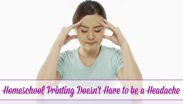 Homeschool Printing Made Easy
