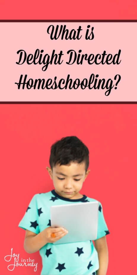 As we journey through the homeschool methods, today we are discussing the delight directed homeschooling method. This is a basic overview of what a delight-directed homeschool looks like.