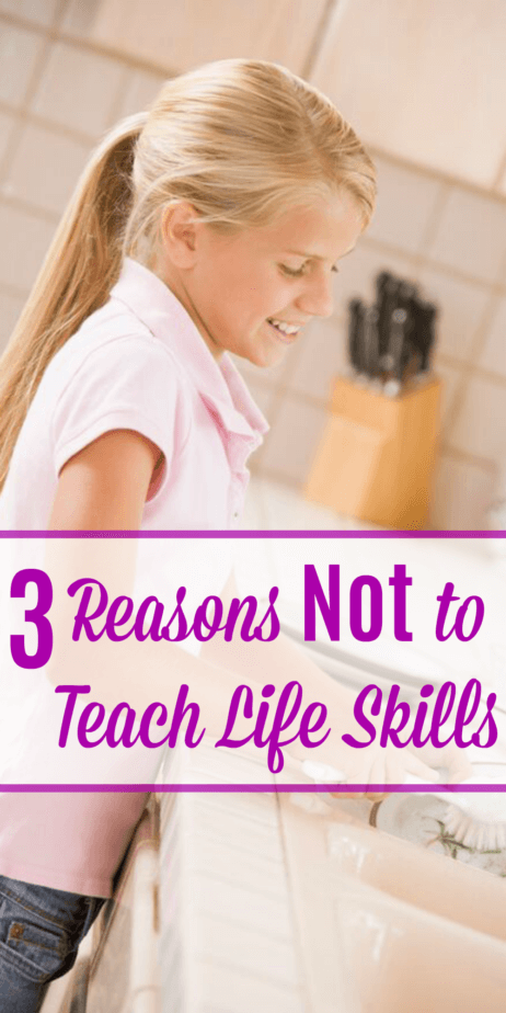 Life skills. We all need them, but more often than not, we don't teach life skills.  But why is that? And how can we teach life skills in our homeschool?