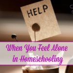 When You Feel Alone in Homeschooling