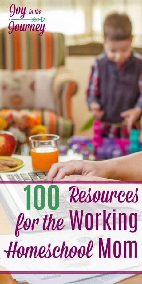 Have you been wanting to become a working homeschool mom but maybe aren't' sure where to start? Or maybe you are a working homeschool mom, but you just need encouraged, or tips to help you on this journey. Look no farther! I have compiled the BEST resources for the working homeschool mom and am sharing them with you today!