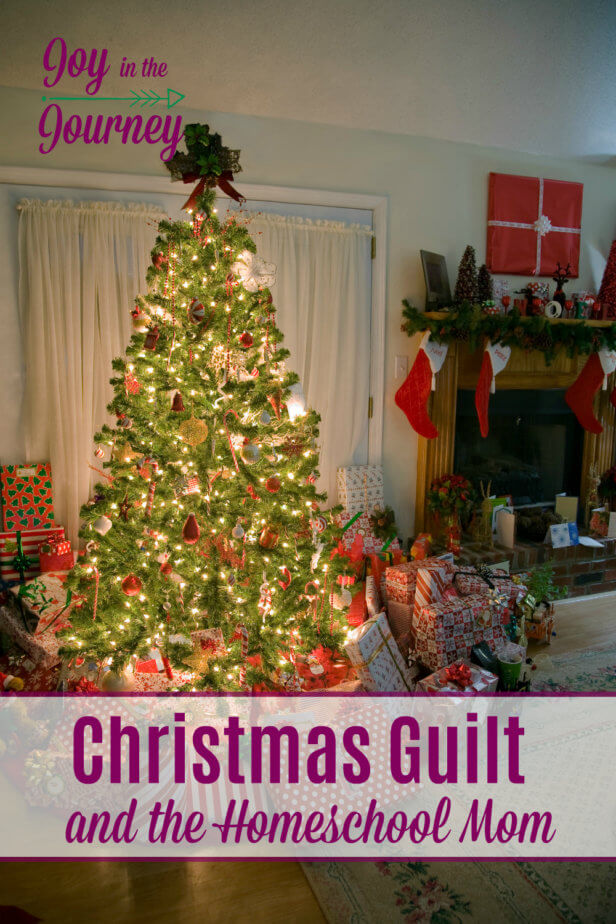 Do you ever face Christmas guilt? Does the comparison trap beat you up this time of year? Ditch the Christmas guilt and face the reality that the number of presents under the tree isn't what is important this time of year.