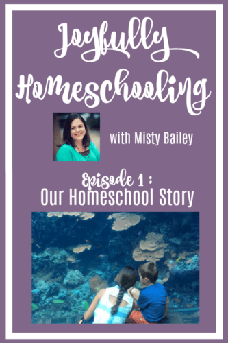 On today's Joyfully Homeschooling episode, we are talking about our homeschool story. Why we chose to homeschool is different than why we still homeschool. But, I believe it is SO important to remember your why.