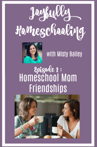 In today's episode, we are chatting about why homeschool moms need homeschool friends. When you decide to homeschool, your friendships will change. We are talking about why that is important, and how you can prepare yourself for the changes that will happen to your friendships.