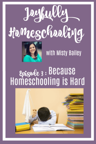 Is homeschooling hard? Of course, it is! In today's episode, I'm sharing some of the benefits homeschooling will provide you and your kids, as well as tips to help you get through those hard moments in homeschooling.  If you have every thought homeschooling was too hard, and been tempted to flag down that yellow school bus you won't want to miss this episode!