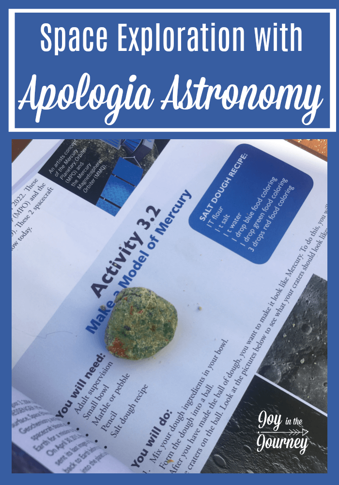 Do you have a space lover? Maybe just want to do a years study of Astronomy with your homeschooler? Consider Apologia Astronomy! This program has amazing science experiments and will make space exploration fun for your whole family!