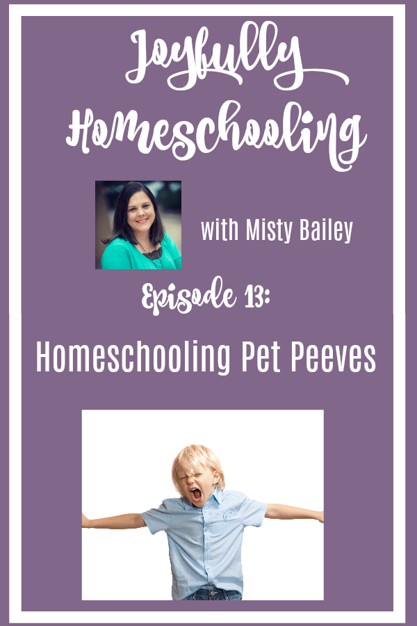 While I may love homeschooling, there are also numerous things I dislike about homeschooling! I am sharing a few of those homeschool pet peeves today