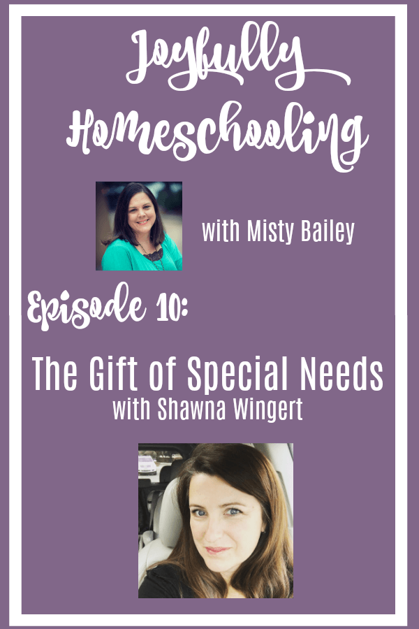 Special needs homeschooling can be difficult, defeating, and at times overwhelming. But, homeschooling with special needs doesn't have to be a drudgery. It can be a gift. I am tackling the topic of special needs homeschooling and how to celebrate the child God has given us today with my friend Shawna Wingert.