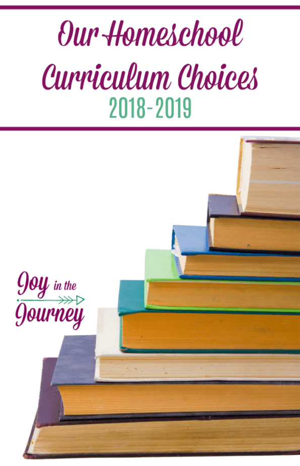 Sharing our homeschool curriculum choices for the 2018-2019 school year. I will have a 1st grader, a 6th grader, and an 8th grader. You will see some old favorites, as well as some new choices.